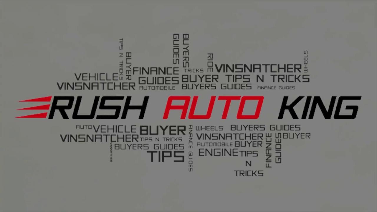 Rush Auto King Inside Car Dealership Secrets to the Public