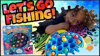 Baixar JJ plays Let's Go Fishing Game!