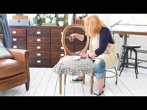 How to Upholster the Back of a Wood Frame Chair