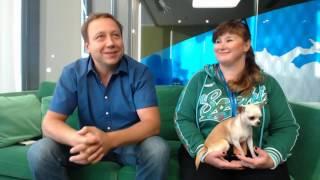 Видеочат с актёрами Е.Дроновым и Ю.Куварзиной (август 2015) HD