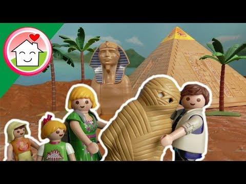 الأسرة الكريمة في زيارة الأهرامات - عائلة عمر - أفلام بلاي
