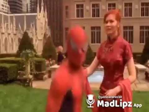 El hombre araña parodia Arturo