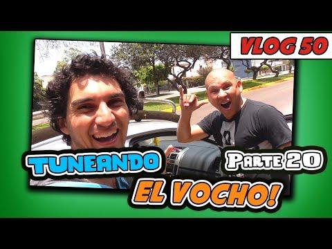 TUNEANDO EL VOCHO!! pt.20 - Vlog#50 [JohannTV]