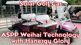 Solar Golf Car from Hanergy and ASPP Technology
