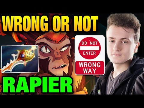 Miracle- VS Mr.Child - Monkey King with Divine Rapier Last Chance to win Dota 2