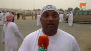 بالفيديو.. تشييع جثمان نادر مبارك شهيد الإمارات في إعادة الأمل