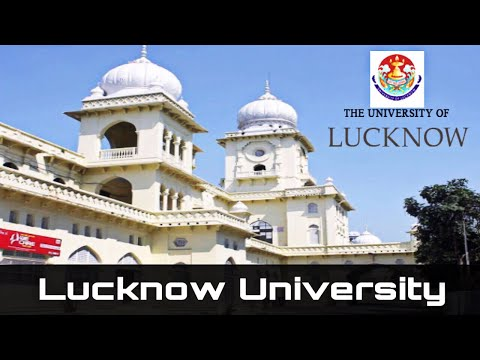 Lucknow University   inside View