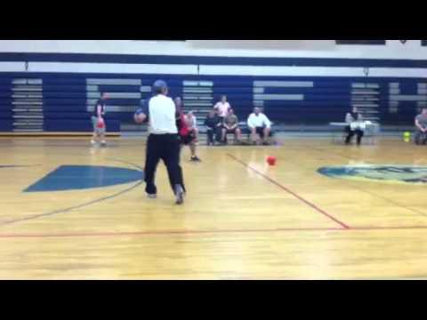Bonners Ferry High School staff dodgeball game