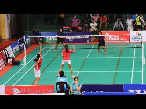 Indian Open Badminton Tournament 2016 badminton women's doubles