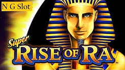 Rise Of Ra Slot Machine Bonus Win  with $5.50 Bet | Live Play