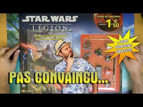 Star Wars LEGION chez ALTAYA Le bon plan à 1€50? + Test des peintures.