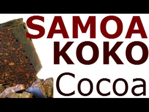 KOKO Samoa, Rich Dark Chocolate Flavor / Cocoa Bean Hot Drin