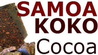 Koko Samoa, Rich Dark Chocolate Flavor / Cocoa Bean Hot Drink