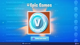 The FREE VBUCK CHALLENGES in Fortnite! (Free VBUCK REWARDS in Fortnite Season 8)