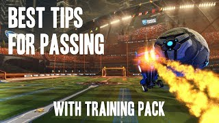 BEST TIP FOR PASSING in Rocket League!
