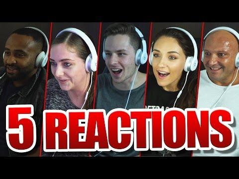 5 Reaktionen zum BANG Musikvideo