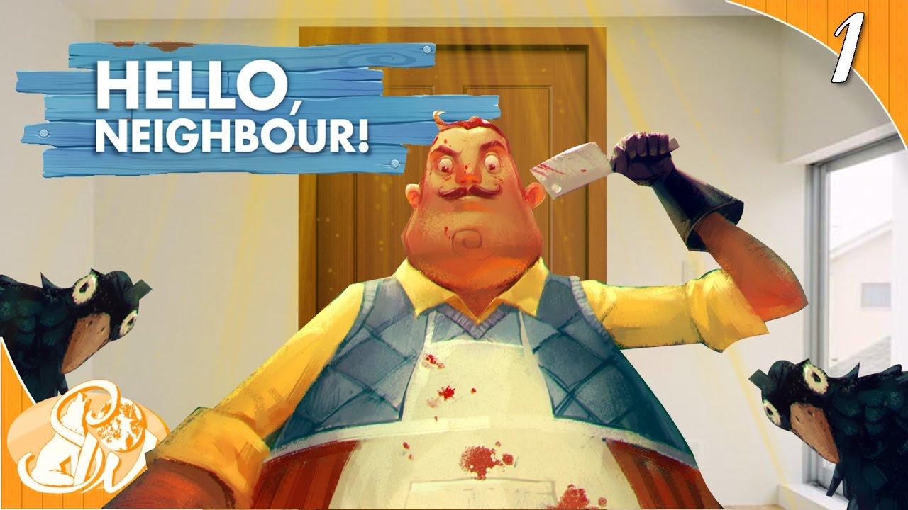 Download SECRET DOOR ENDING   Hello Neighbor Funny Moments