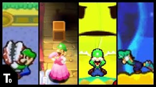 Mario & Luigi: All Luigi Funny Moments/ Cutscenes