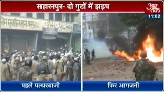 Curfew imposed on riot-hit Saharanpur; cross-firing reported