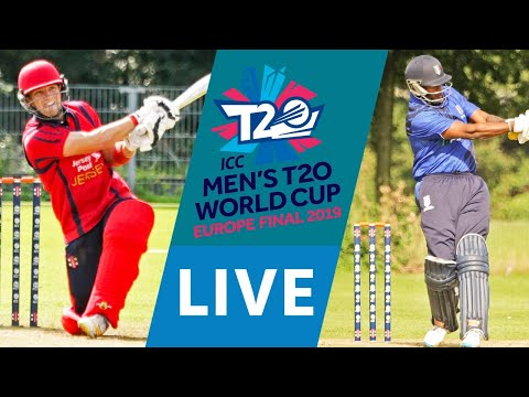 Live Cricket Icc Men S T20 World Cup Europe Final 2019 Jersey Vs Italy Match Starts 16 25 Bst