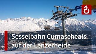 Sesselbahn Val Schameala - Cumascheals (Lenzerheide - Valbella)