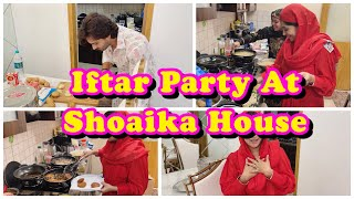 Shoaika House Iftaar Party|My recipe for Chicken Russian Cutlet|My family my strength| Alhamdulillah