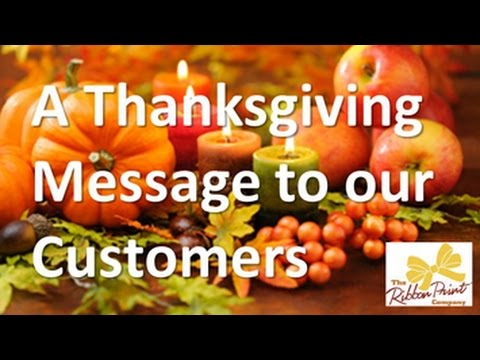 a customer message thanksgiving 2014 youtube