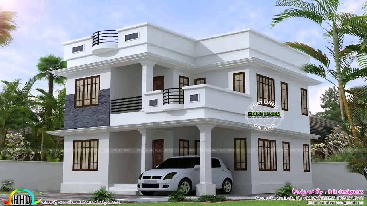 Simple House Design With Second Floor Gif Maker Daddygif Com