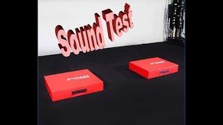 Titan Silencer Drop Pads Sound Test (Water Vibration Test)