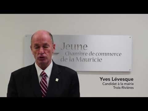 Vidéo du candidat Yves Lévesque (Trois-Rivières)