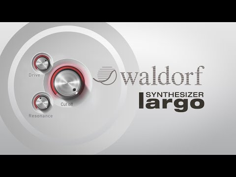 waldorf largo vst