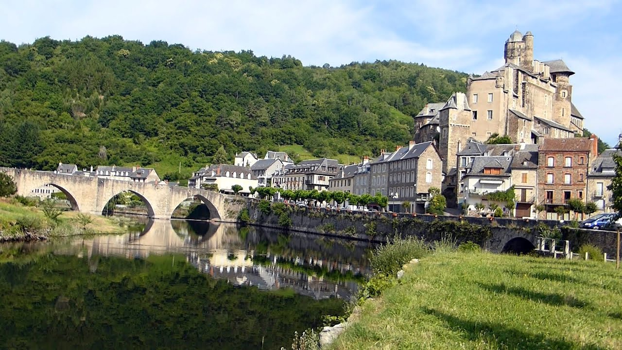 estaing un des plus beaux villages de france hd youtube. Black Bedroom Furniture Sets. Home Design Ideas