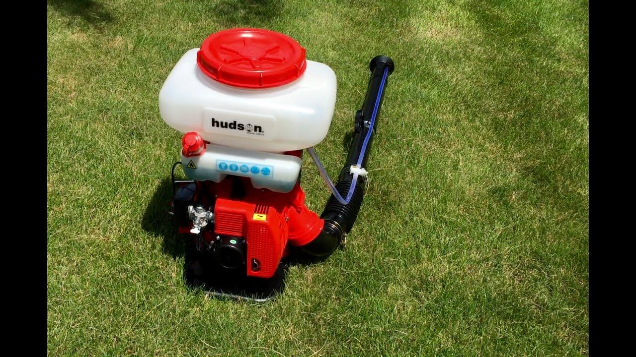 hudson 18539 gallon 2 4 hp 2 stroke gas powered professional bak pak power duster thumbs. Black Bedroom Furniture Sets. Home Design Ideas