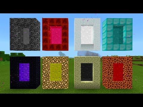 8 Portals in Minecraft