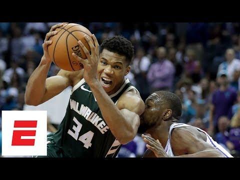 Giannis Antetokounmpo, Kemba Walker battle as Bucks beat Hornets in season opener   NBA Highlights