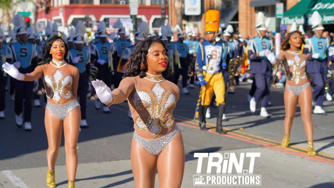 Southern University Marching In The Rose Parade On New Year S Day Youtube