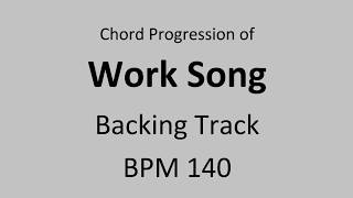 """Backing track of famous jazz standard""""work song"""" chord progressionintro: 2 bars (drums only)theme: chorusad-lib chorus: 4chorusback theme: chorus--------..."""