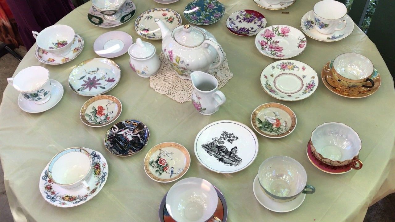 Crazy Cheap Swap Meet Clothes, Tea Cups and Jewelry - YouTube