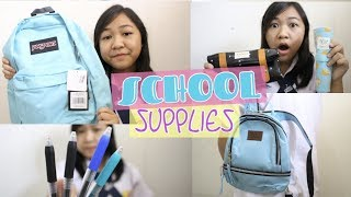 BACK TO  SCHOOL SUPPLIES HAUL 2k17!!!