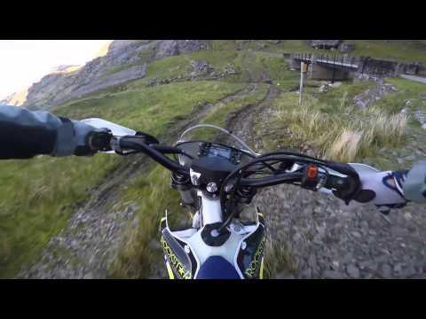 Scotland trail riding husqvarna fe 350 part 1