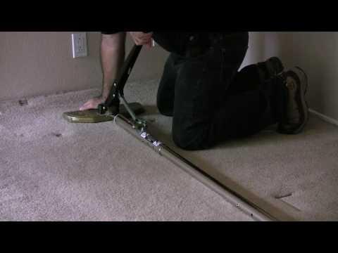 Stretch carpet... A CreativeCarpetRepair.Com Tutorial