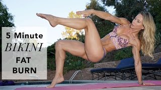 5 Minute Fat Burning Bikini Workout #88