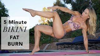 5 Minute Fat Burning Bikini Workout #88