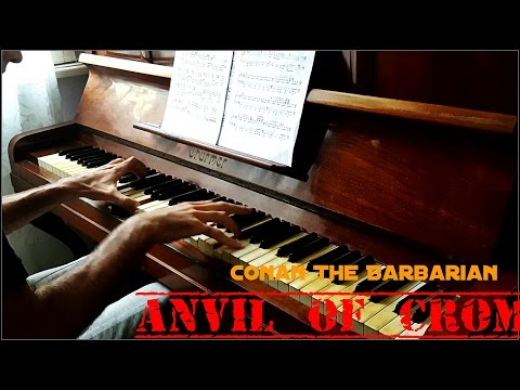 Conan The Barbarian Theme - Anvil Of Crom - Best Piano Version