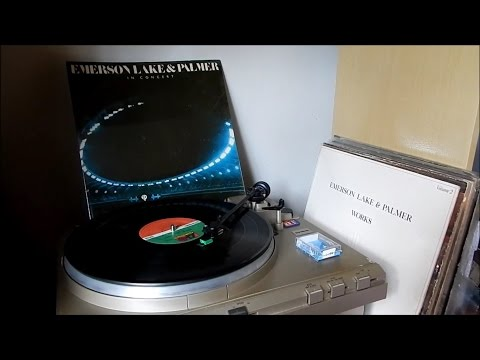 Emerson, Lake & Palmer - Knife Edge (1979 vinyl rip / Audio-Technica AT95E)