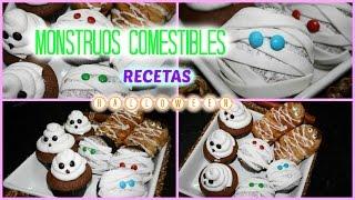 MONSTRUOS COMESTIBLES / RECETAS HALLOWEEN Thumbnail