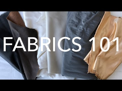 Learning About Fabrics 1: The Who, What, and How