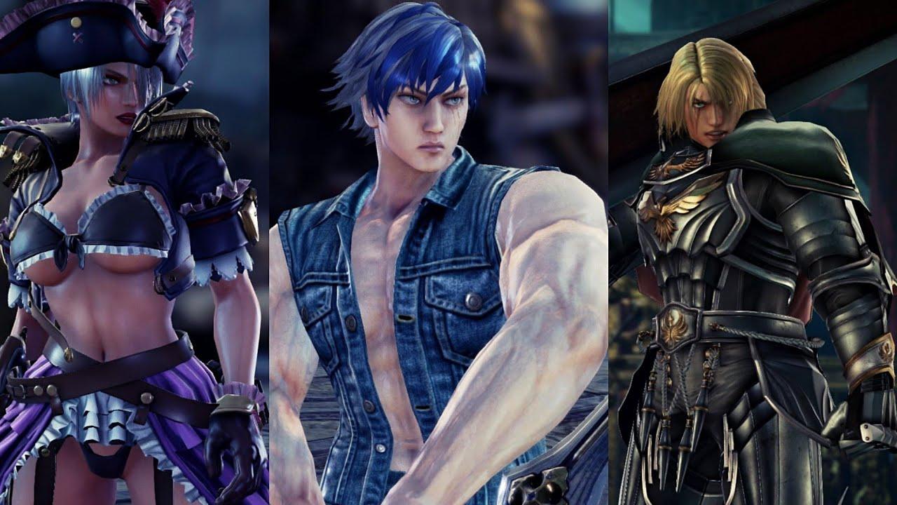 Soul Calibur VI DLC 3:Character Creation Set A Items