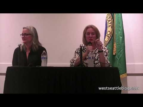 Seattle Mayor candidates at West Seattle forum