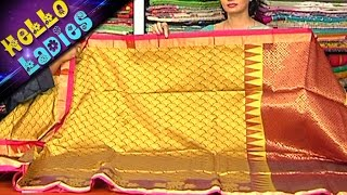 Chirala Sico  With Thread Work & Ikat Fabric Sarees || Hello Ladies || VanithaTV